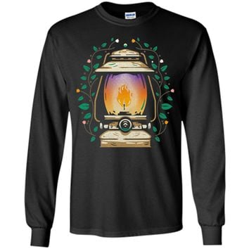 Charming Vintage Outdoor Camping Oil Lamp 2017 T Shirt