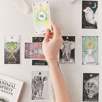 The Wild Unknown Animal Spirit Deck & Guidebook By Kim Krans | Urban Outfitters