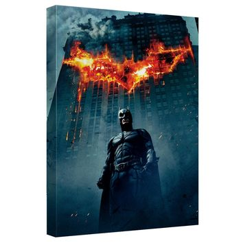 Dark Knight Trilogy - Dk Poster Canvas Wall Art With Back Board