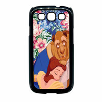 Beauty And The Beast Floral Vintage Samsung Galaxy S3 Case