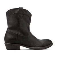 Frye Carson Lug Short Boot in Black