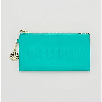 I'm Actually A Mermaid Clutch Wallet - Spencer's