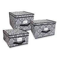 The Laura Ashley® Collection Storage Boxes in Delancy