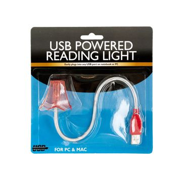 Lamp Shaped USB Powered Flex Reading Light Case Pack 8