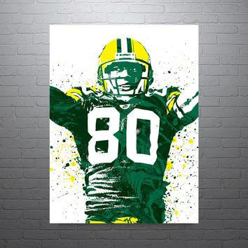 Donald Driver Green Bay Packers Poster