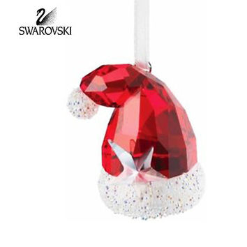 Swarovski Crystal Christmas Figurine Ornament SANTA'S HAT #944873