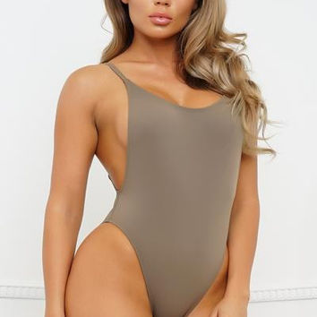 JG One Piece - Taupe