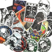 25 Star Wars Stickers