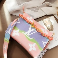Louis Vuitton LV new tie-dye gradient women shopping shoulder bag diagonal bag