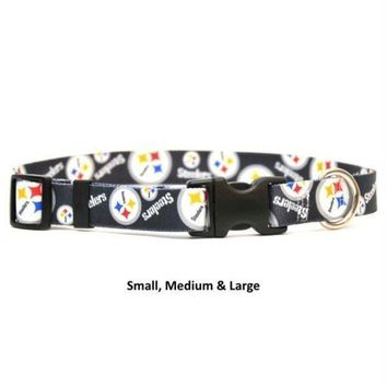 PEAPB5F Pittsburgh Steelers Nylon Collar