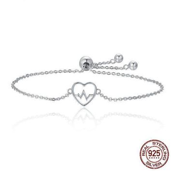 Heartbeat Bracelet For Women