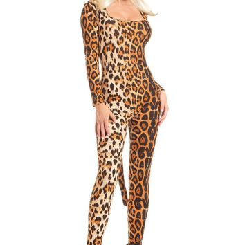 BW1599 3 Piece Loveable Leopard Costume - Be Wicked