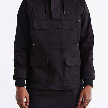 Publish Anchorage Long Anorak Jacket- Black