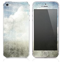 The Grunge Cloudy Texture Skin for the iPhone 3, 4-4s, 5-5s or 5c
