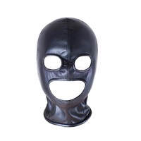 eyes mouth unblocked sex mask bdsm mask adult sex toys bdsm bondage set fetish mask slave bdsm sex toys for couples adult games