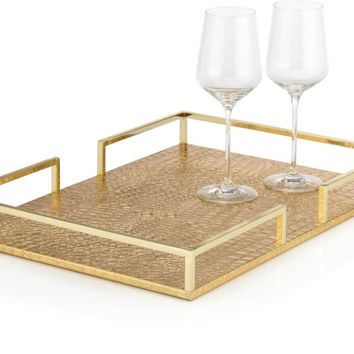 Everglades Metal Tray | Trays | Tableware | Z Gallerie