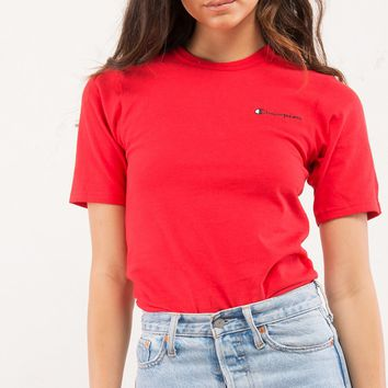 Champion Heritage Tee With Small Side Logo