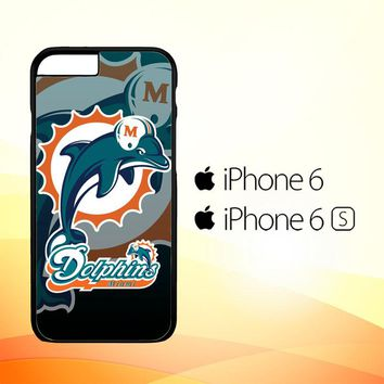 Miami Dolphins Nfl Z3270 iPhone 6|6S Case
