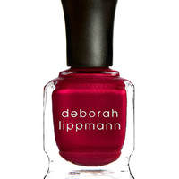 Limited Edition Silk Matteen Nail Polish, Red Silk Boxers - Deborah Lippmann