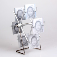 Metal Photo Frame Home Decoration Rack [6542362627]