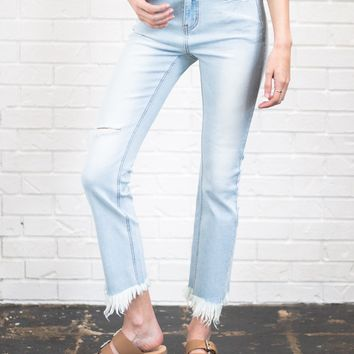 York Straight Crop Jean