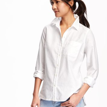 Relaxed Classic Shirt for Women | Old Navy