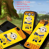 iphone 4/4s case minion arsenal fc iphone 5 case, iphone case, samsung s3 i9300, samsung s4 i9500, cover plastic, accesories
