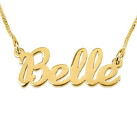 Handwriting Name Necklace