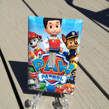 Paw Patrol Switch plate - Light Switch