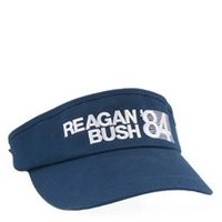 Rowdy Gentleman Reagan Bush 84 Tour Visor
