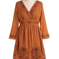 Terra Cotta Have It Dress | Mod Retro Vintage Dresses | ModCloth.com