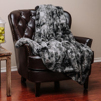 Chanasya Super Soft Fuzzy Fur Warm Cozy Sherpa Throw Blanket You'll Love | Wayfair