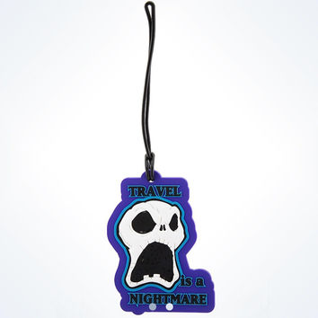 disney parks jack skellington luggage tag travel is a nightmare new with tags