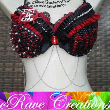 Custom Machine Gun Kelly (MGK) Bra