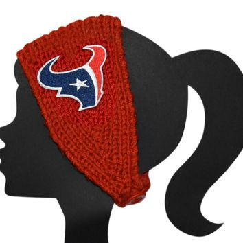 Texans Knit Headband