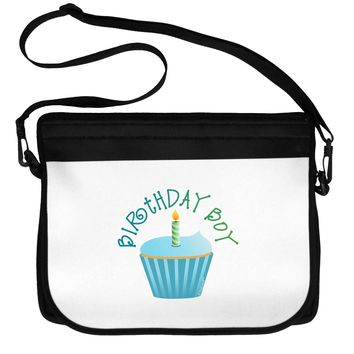 Birthday Boy - Candle Cupcake Neoprene Laptop Shoulder Bag by TooLoud