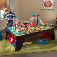 KidKraft Aero City Train Set and Table - 17806