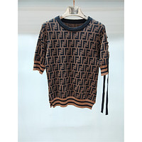FENDI Women Fashion Short Sleeve Top Sweater Pullover