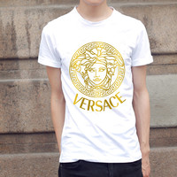 Versace Golden T shirt Versace Men and Women by UniverseCircus