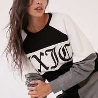Juicy Couture For UO Color Block Crew-Neck Sweatshirt - Urban Outfitters