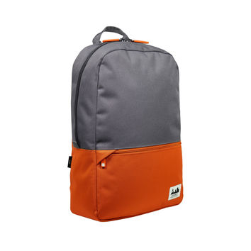 Projekt Karl Backpack Tangerine/Charcoal