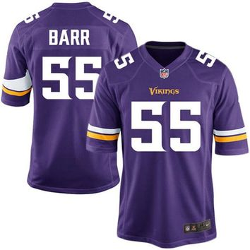 Youth Minnesota Vikings Anthony Barr Nike Purple Team Color Game Jersey