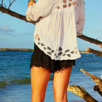 Tiare Hawaii Santorini Top Grey