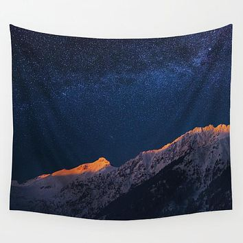 Starry Mountain Tapestry