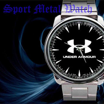 2015 New Under Armour logo sport metal watch