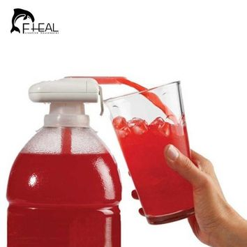 DCCKL72 Creative Electric Automatic Juice Cocktail Water Dispenser with Drinking Straw Fruit Vegetable Kitchen Accessories for Party