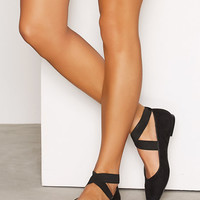 Lacing Ballerina, NLY Shoes