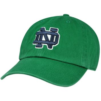 47 Brand Notre Dame Fighting Irish Clean Up Team Adjustable Slouch Hat - Kelly Green