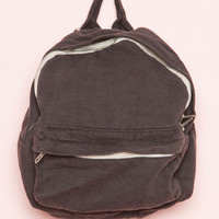 Faded Black Mini Backpack - Bags & Backpacks - Accessories