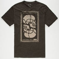 Kr3w Muerta Mens T-Shirt Heather Grey  In Sizes